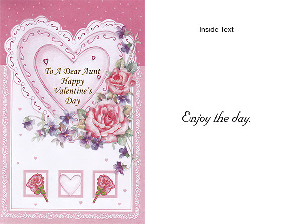 Aunt Valentines Day Cards