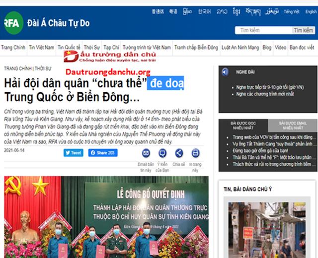 RFA với chiêu trò 'phá hoại' quan hệ Việt Nam - Trung Quốc