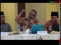 Sesi Dialog Mudzakarah Isra' Mi'raj Ditinjau Dari Sudut Sains dan Teknologi