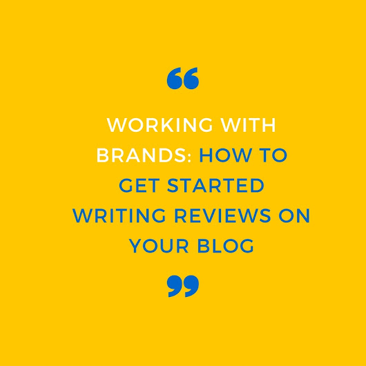 How to get started writing reviews on your blog - Opposable Thumbs