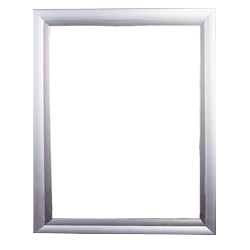 Top Load Frame 22 X 28 Silver Hardware Only Imagery