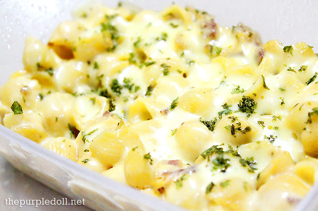 Baked Mac and Cheese P189