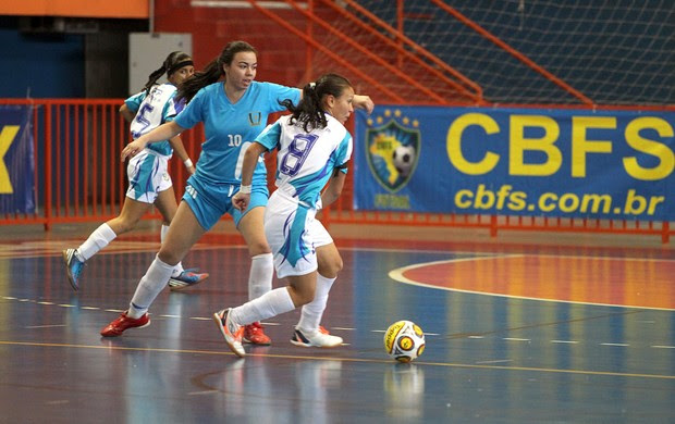 IFPI futsal feminino sub 20 (Foto: Zerosa Filho/CBFS)
