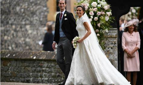 Pippa Middleton's wedding dress photos: Kate's sister gets