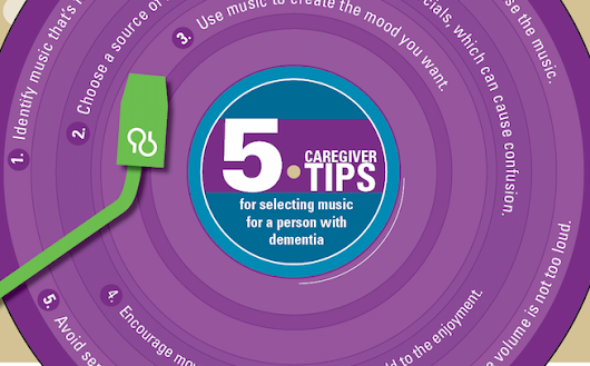 5 Caregiver Tips for Selecting Music for a Person with Dementia
