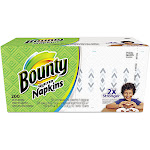 Bounty Quilted Paper Napkins, 1-Ply - 200 count