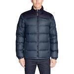 Eddie Bauer Men's Classic Down Jacket, Blue, X-Large