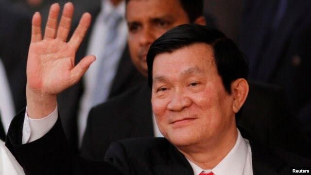 Chủ tịch Việt Nam Trương Tấn Sang.