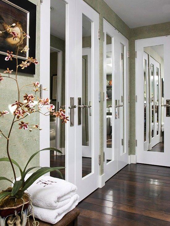 Install Bifold Doors New Construction Mirrored French Closet Doors