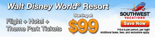 Walt Disney World Resort Sale!