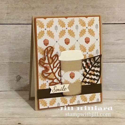 Fall Pumpkin Spice Latte Card - Jill's Card Creations