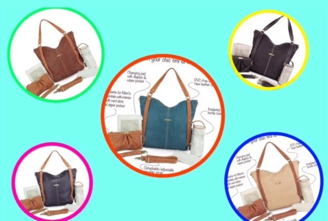 Enter the timi & leslie 7-Piece Diaper Bag Giveaway. Ends 7/31