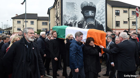 A Catholic farewell : A funeral in Northern Ireland recalls religion's power to divide and unite    | The Economist