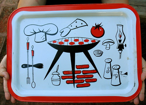 Another fun metal food tray