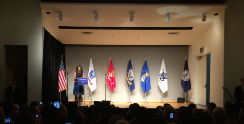 Michelle Obama announces free Coursera credentials and learning hubs for US Veterans