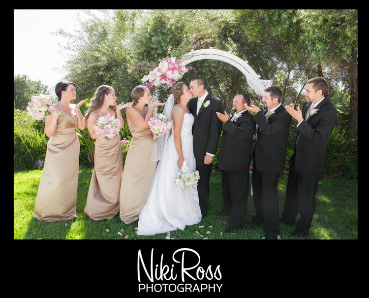 BridalPartyBlowingKiss