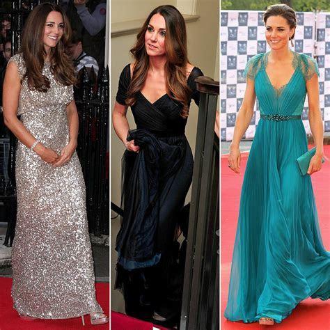 Kate Middleton in Jenny Packham Dresses   POPSUGAR Fashion