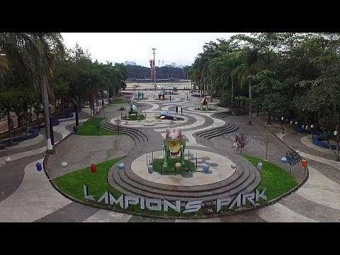 Lampions Park di Taman Tegallega, Destinasi Favorit Wisatawan Luar Kota