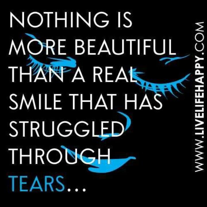 Smile, Struggle, and Tears