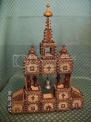 bangunan mancis 8 [Gambar Menarik] Bangunan Dari Batang Mancis