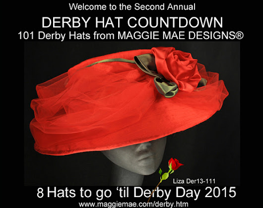 MAGGIE MAE DESIGNS® Derby Hat Countdown - 8 of 101