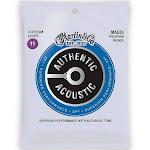 Martin Authentic SP Phosphor Bronze Acoustic Guitar Strings Custom Light MA535