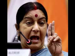 Sushma Swaraj Arrives in Egypt on First Leg of Two-Nation Tour