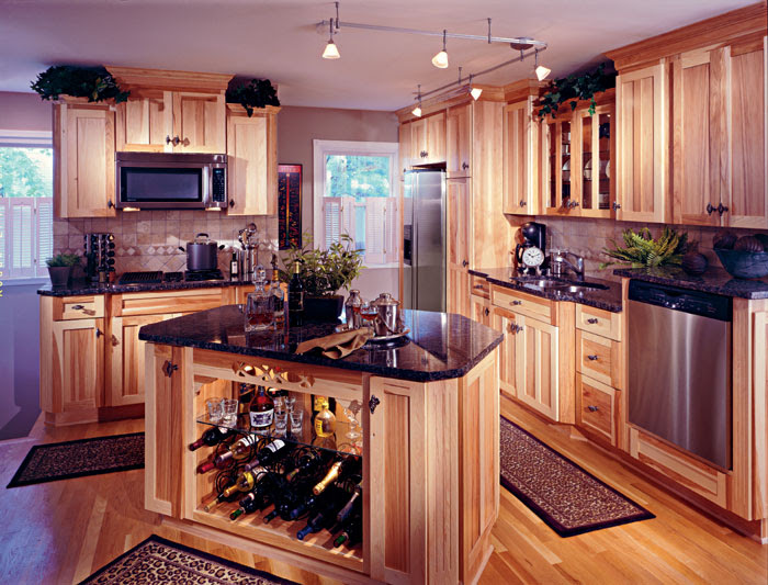 Heritage Hickory Natural Ki Columbia Kitchens Of Maryland Inc