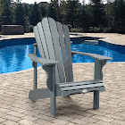 Adirondack Chair by Leisure Line, Gray