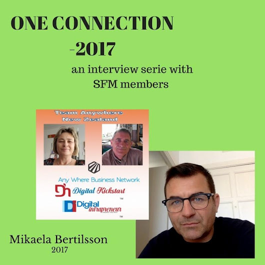 ONE CONNECTION Interviews with SFM members Q1,2017