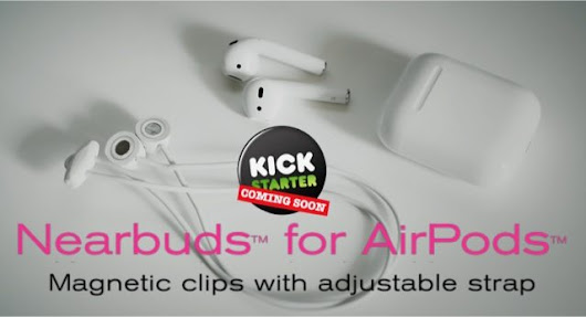 Nearbuds for AirPods To Launch Kickstarter Campaign to fund magnetic AirPod clips