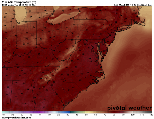 Mostly Sunny and Warm through Mid-Week – Maryland Weather