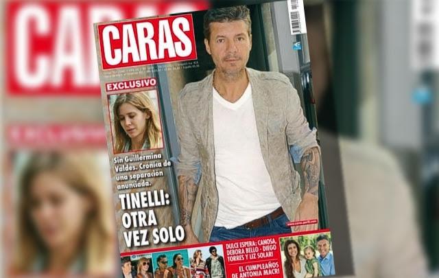 Marcelo Tinelli se separó de Guillermina Valdés