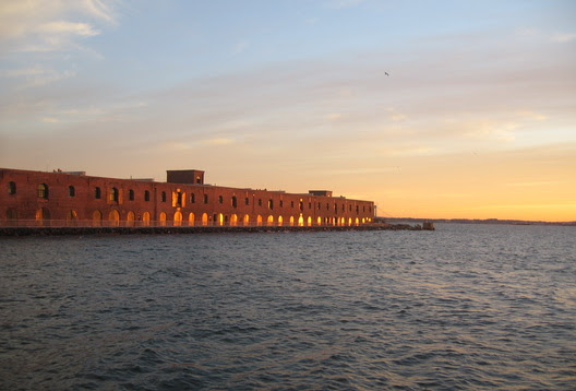 Red Hook Sunset New