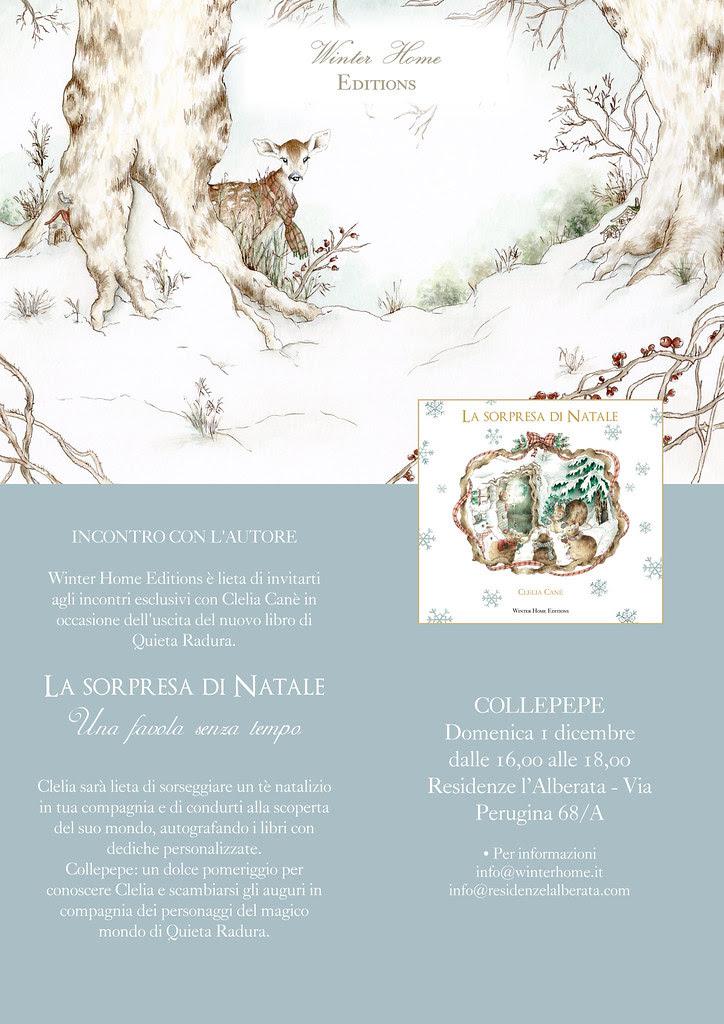 """Presentazione Libro """"La Sorpresa di Natale"""" di Clelia Canè"""