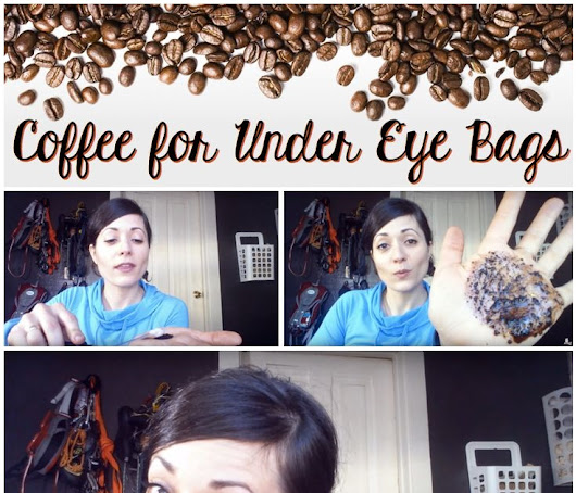How to Get Rid of those Dark Bags under your Eyes with Coffee Beans!