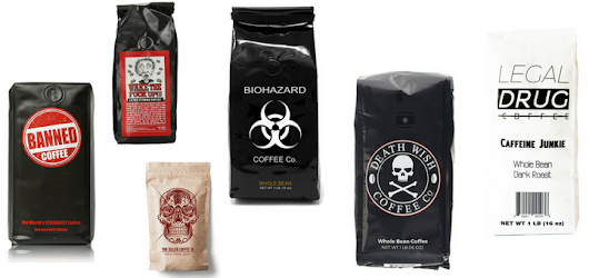 13 Most caffeinated coffee beans and ground coffee - Strongest Brands