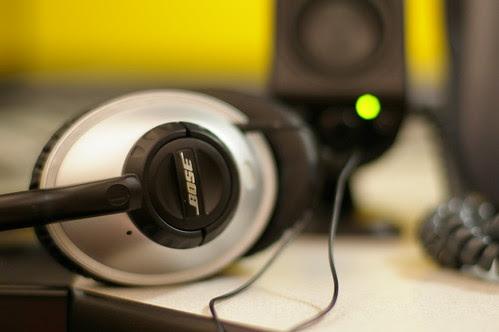 My bose headphone taken with Pentax FA 50 f/1.4