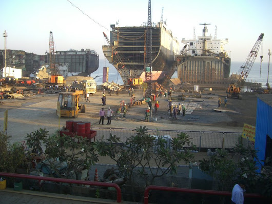 Japan Backs Ship Beaching Yards in India - gCaptain Maritime & Offshore News