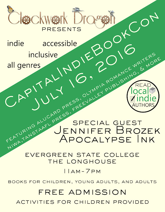 #CapitalIndieBookCon is Coming!