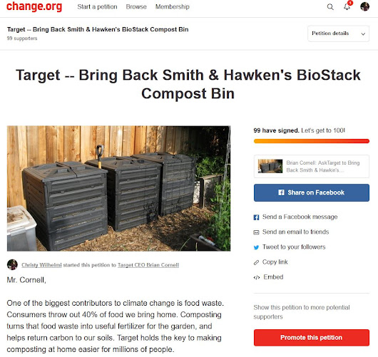 Help Bring Back the BioStack Compost Bin - Gardenerd
