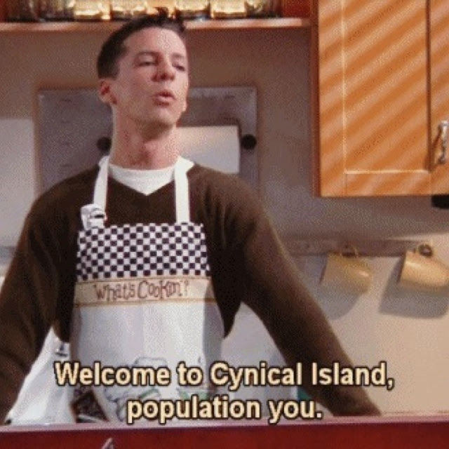 Will & Grace  Jack... Welcome to Cynical Island, Jack McFarland,