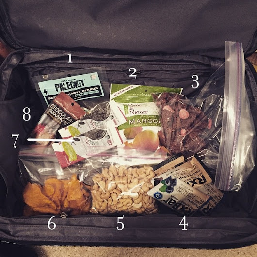 Paleo Travel Snacks