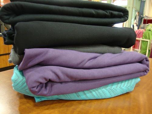fabric I bought at Haberman!