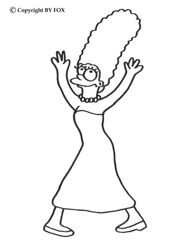 The Simpsons Coloring Pages 43 Printables Of Your Favorite Tv