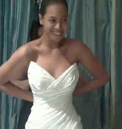 Beyonce wedding dress pictures: Pregnant star reveals