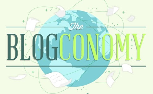 The Blog Economy: Blogging Stats [INFOGRAPHIC] 2014