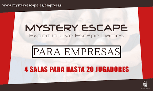 Escape Room para Empresas | Mystery Escape Barcelona