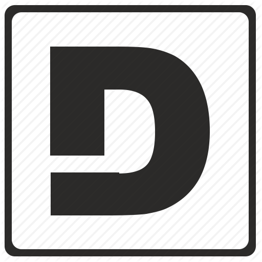 alphabet d latin letter logo png 14
