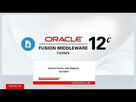 How to Download Install Oracle Forms and Reports 12c